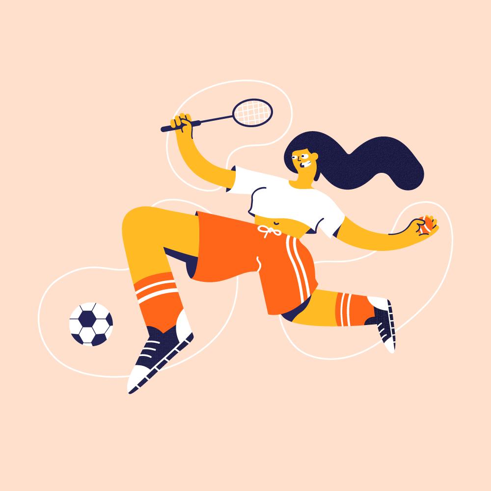 Illustratie – Excercise