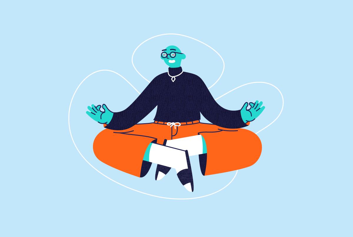 Illustratie: Meditate